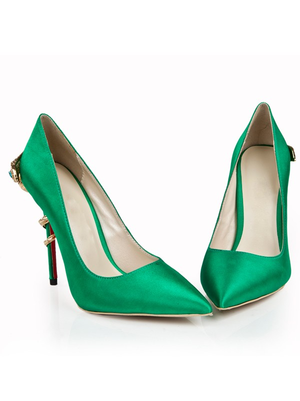 Bonnyin Green Spitz High Heels